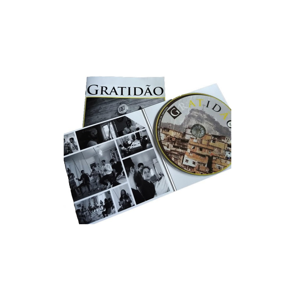 CD Gratidão Sinistro - Capoeira Brasil