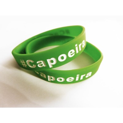 Silicona pulsera Capoeira