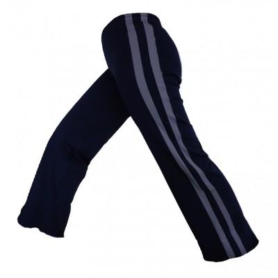 Abada Capoeira - azul e cinza