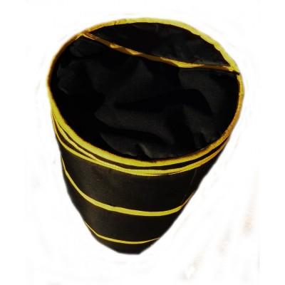 Housse d'atabaque Rum 105cm Noire et Jaune GEOMAR