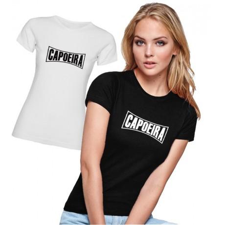 Tshirt Capoeira Mujer - Curve