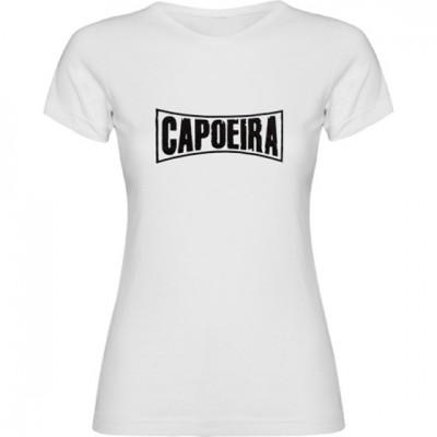 Tshirt Capoeira Woman-  Curve