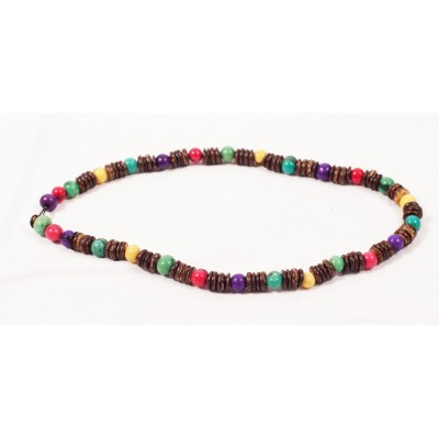 Brazilian necklace in Açaï et Coco