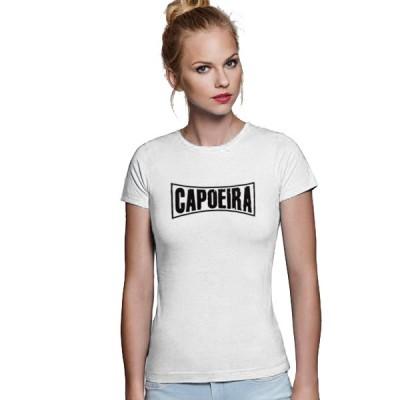 Tshirt Capoeira Frau - Curve