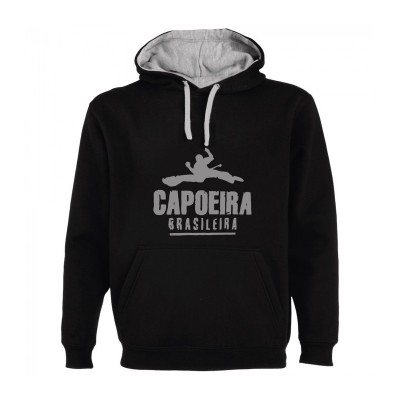 Felpa con cappuccio Capoeira - Unisex