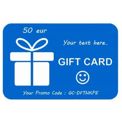 Geschenkkarte 50eur