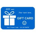 Gift Card 200eur