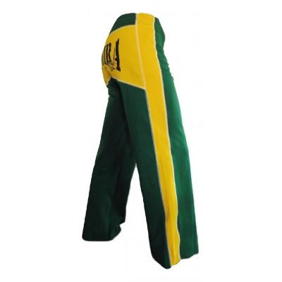Abada Capoeira - Grün und Gelb