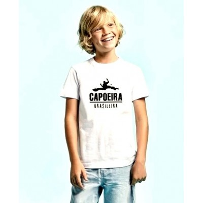 T-Shirt Capoeira Child White kid