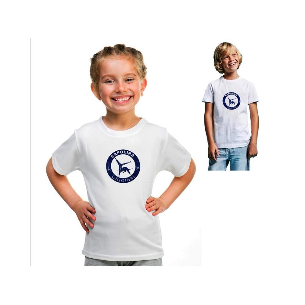 Camiseta infantil Capoeira Original