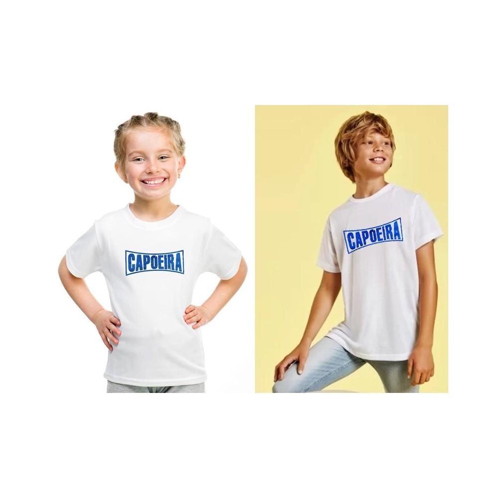 Camiseta infantil de capoeira