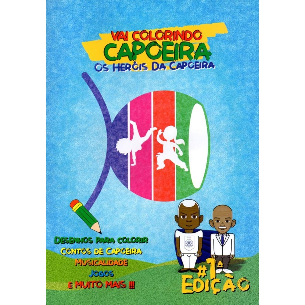 Capoeira coloring book / games