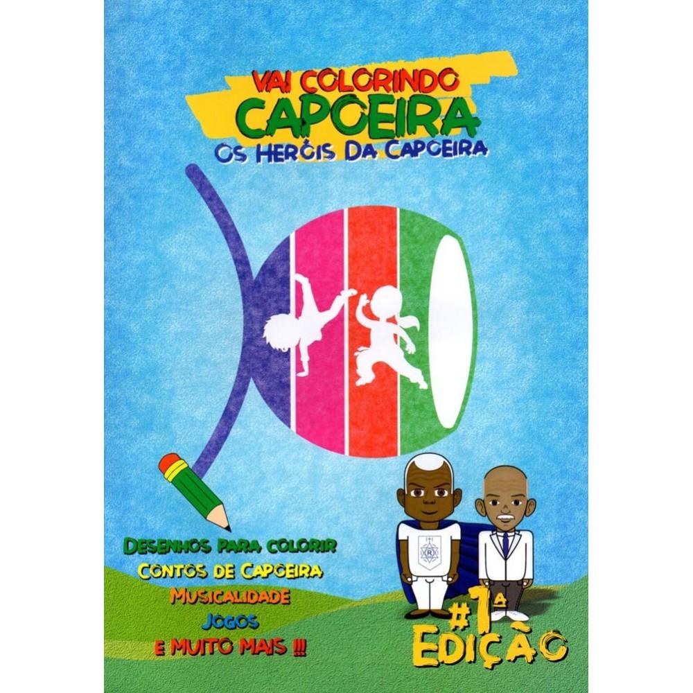 Libro de colorear / juegos de Capoeira