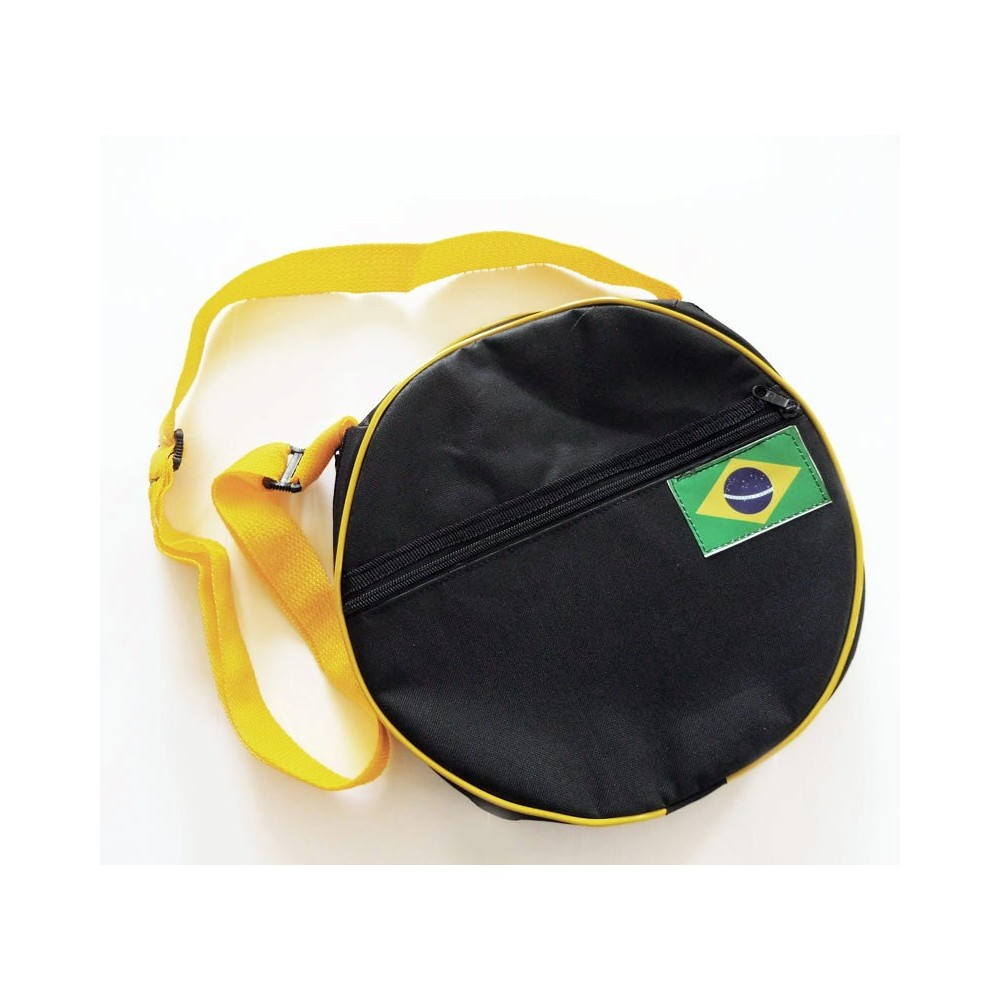 Cover pandeiro - Yellow and black GEOMAR