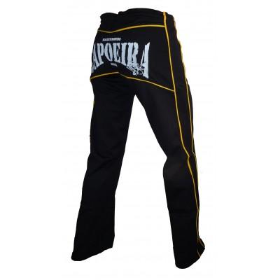 Abada (Pantalon de Capoeira) MS Dibum Noir Jaune