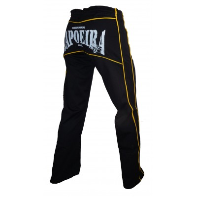 Capoeira Pants Abada  MS Dibum Black