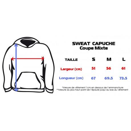 Sweat à Capuche Capoeira Unisexe