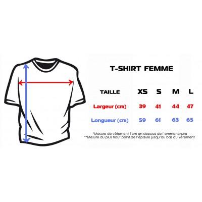 T-Shirt Capoeira Femme
