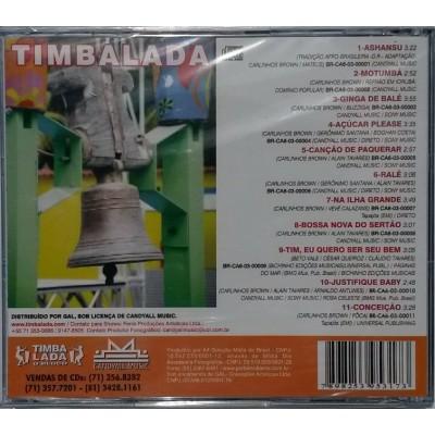 CD Timbalada : Musique Afro-brésilienne