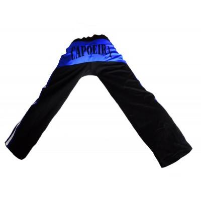 Pantaloni Capoeira neri e blu