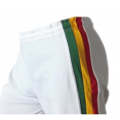 Abada de Capoeira Blanc - Jamaica