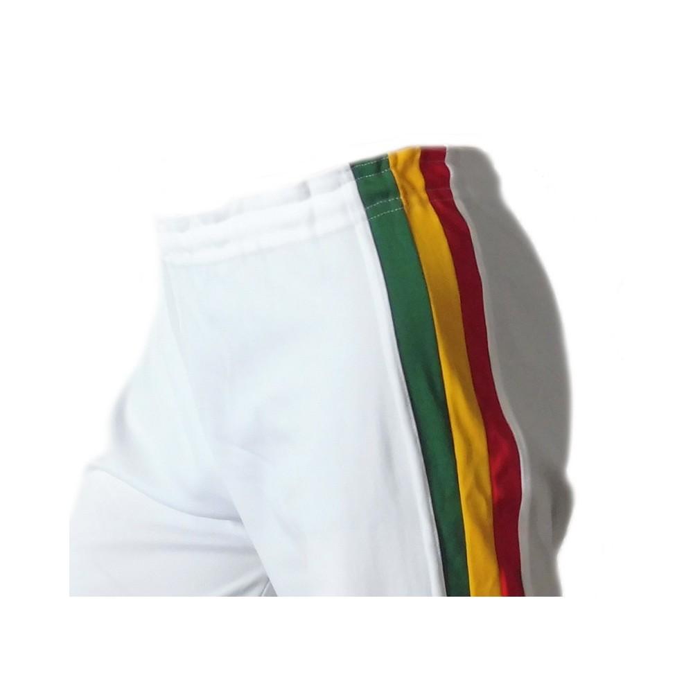 Abada Capoeira Blanco Jamaica