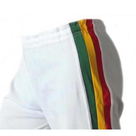 Abada de Capoeira Branco Jamaica