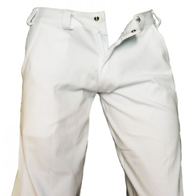 Pantaloni Capoeira Bianco (Angola-Regional)