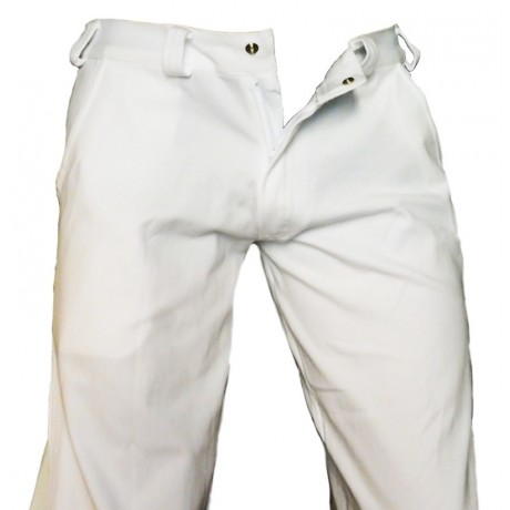 Pantalon Capoeira (Angola-Regional) Blanc
