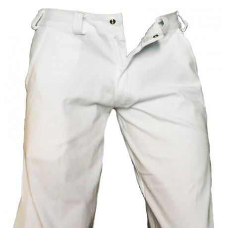 Pantaloni Capoeira (Angola-Regional) Bianco