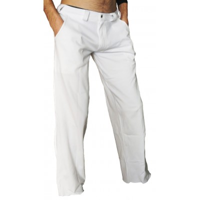 Capoeira Hosen weiß (Angola-Regional)