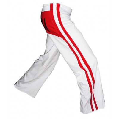 Capoeira Hosen Red and White Album