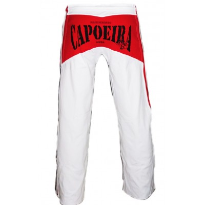 Capoeira pants Red and White Album