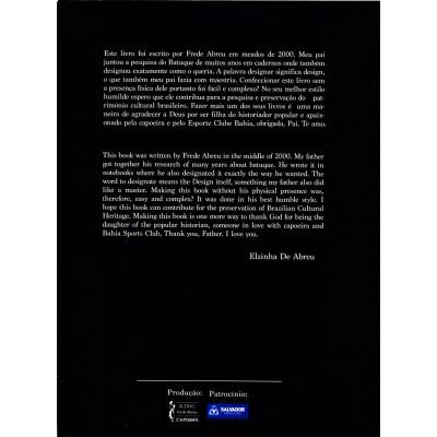 "Livro ""O Batuque, a luta braba"" (Frede Abreu)"