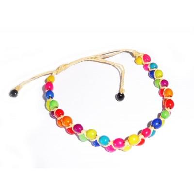 """Bijoux bracelet du Brésil """"Œil de colombe"""""""