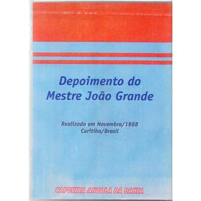 DVD Depoimento do Mestre João Grande