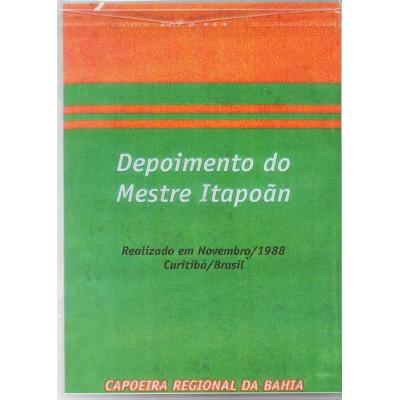 DVD Depoimento do Mestre Itapoan