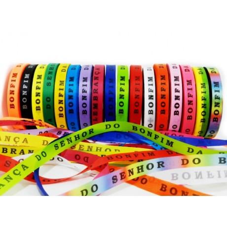 """Rouleau de """"fitas"""" bracelet Brésilien porte bonheur"""