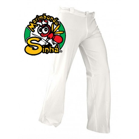 Pantalones de capoeira blancos Abada
