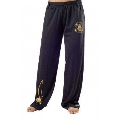Capoeira Pants for Women Besouro Black