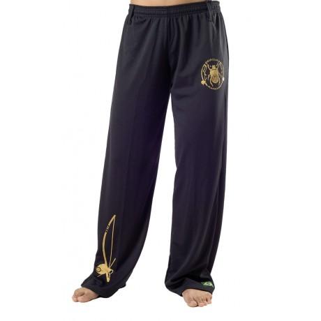 Pantalon de Capoeira pour Femme Besouro Noir