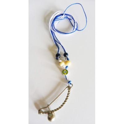 Halskette Anhänger Berimbau Capoeira BB
