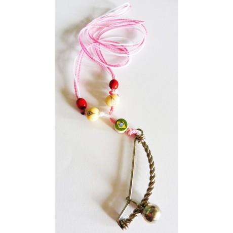 Halskette Anhänger Berimbau Capoeira RB