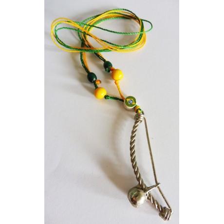 Halskette Anhänger Berimbau Capoeira VJ