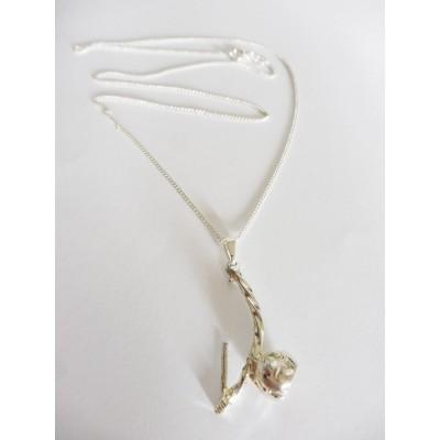 Chain Pendant Berimbau