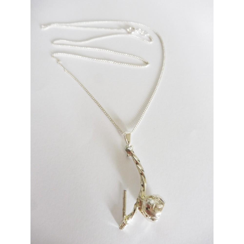 Chain Pendant Berimbau Metal