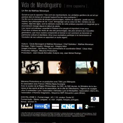 DVD Vida de Mandingueiro