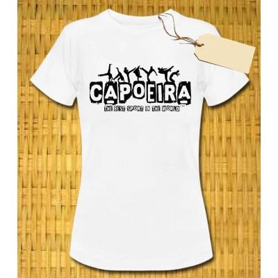 Tee-shirt Capoeira Femme M. Zangado CDO