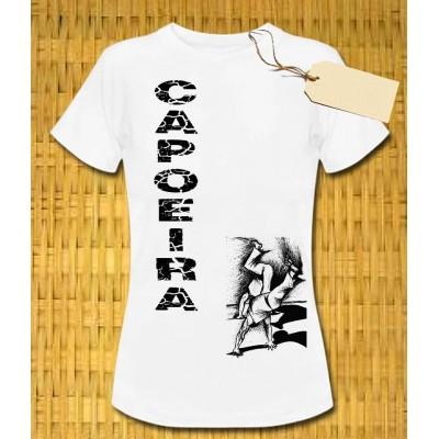 Camiseta de Capoeira parar Mujer M. Zangado CDO