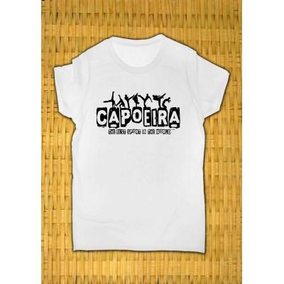 Camiseta Capoeira para niños.